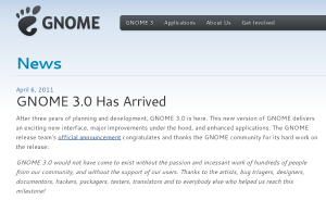 Gnome3 has arrived